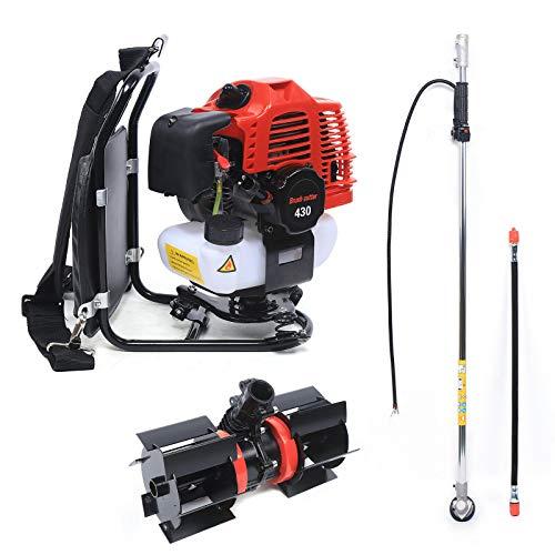 Desbrozadora profesional de gasolina TBG430 – 52 cc, 2 tiempos, 1,7 CV,...