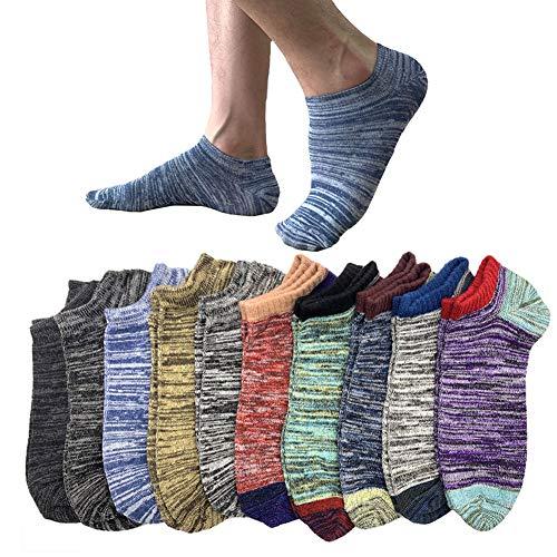 靴下 メンズ くるぶし 10足セット ソックス 滑り止め ビジネス 夏 綿 24-28cm