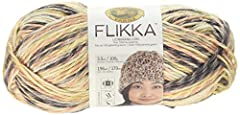 Tran seasonal and trendy, FLIKKA is a 50% cotton, 50% polyester yarn with subtle flecks of color against a natural base. This lightweight CYC 3 yarn is perfect for summer shawls, tops, shrugs and adorable baby gifts. Machine Wash & Dry Made in China ...