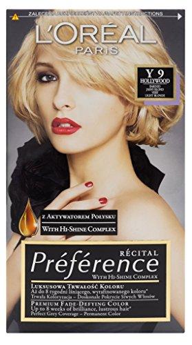 L'Oreal Paris Recital Preference Y 9 Hollywood Haar Farbe