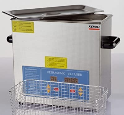 Kendal Commercial Grade Heated Ultrasonic Cleaner with Digital Timer and Temperature Control