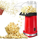 Popcorn Machine, Air Popper Popcorn Maker No Oil with ETL Certified, BPA Free, Hot Air Popcorn Machine for Family Gatherings/Movie Time