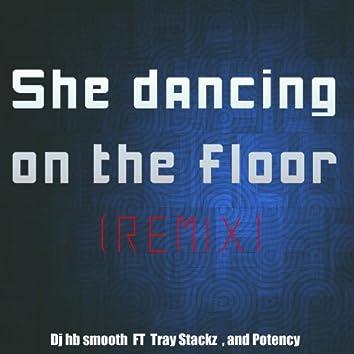 She Dancing On the Floor (Remix) - Single