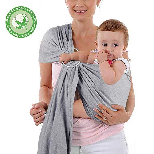 LAT Fular Portabebes Elastico Recién Nacidos Hasta 18kg 100