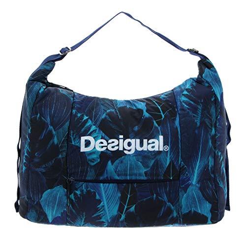 Desigual Bio Patching Olivia Gym Bag Azul Polar