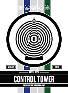 Control Tower Battle Deck. Magic The Gathering Preconstructed Blue Green Deck. 60 Cards.