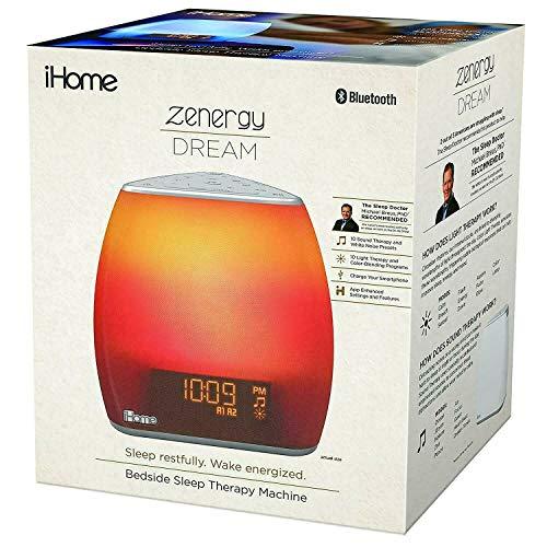 iHome Zenergy Bedside Sleep Therapy Machine