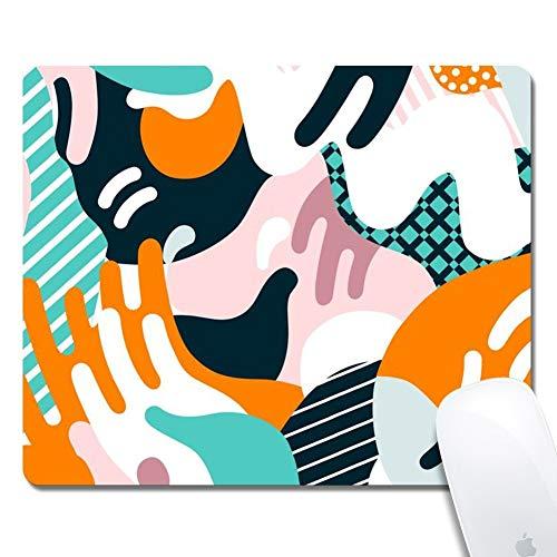 Computerbild Rechteck Mauspad Gedrucktes Gummi Schreibtischzubehör Mausmatte