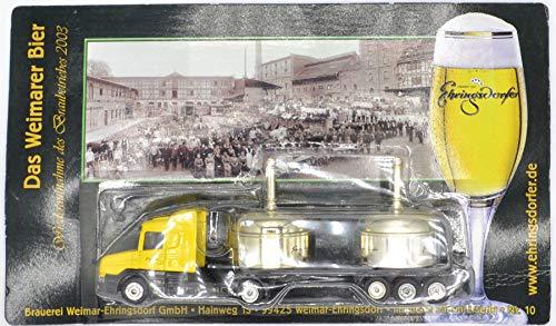 Ehringsdorfer Nr.11 - Das Weimarer Bier - Scania - Sattelzug mit Sudpfannen