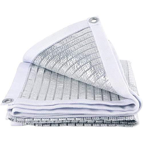 LLNN - Tela de sombreado de protección Net resistente a los rayos UV, 75%, con ojales para jardín, patio o planta, Greenhouse Shade Net, 2*2m