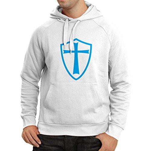 lepni.me Sudadera con Capucha Caballeros Templarios - Escudo