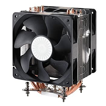 Cooler Master Hyper 212 Plus - CPU Cooler with 4 Direct Contact Heat Pipes  RR-B10-212P-G1
