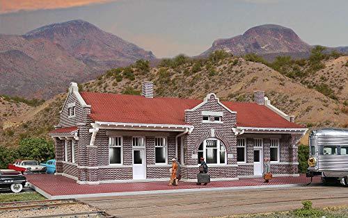 Spur H0 -- Bausatz Bahnhof Depot Santa Fe