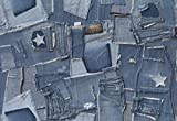 DecoSoon - Carta da Parati Jeans