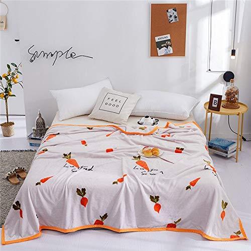 RONGXIE nieuwe eenkleurige dekens art en Weisequilt dubbelkoningin Koning Blankets Zachte werps-flanellen deken op bed- / auto / sofa Rosa Meisjes-wollen dekbedovertrek Camping hoofdbeddengoed 1 Stück 180x200cm Style20