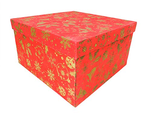 Kerstcadeaudoos - 22 x 22 x 12 cm - Fair Trade