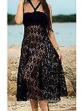 Zoom IMG-1 moda donna vestito di pizzo