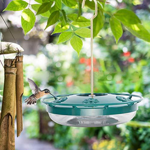 Mangiatoia decorativa per uccelli in stile creativo, mangiatoia per uccelli, decorazione da appendere per esterni e patio, casetta per uccelli, ornamento da giardino