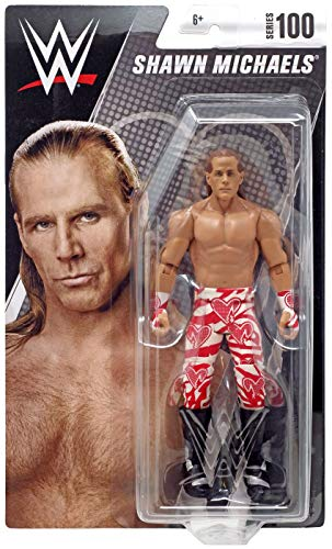 ACTION WWE Shawn Michaels Series 100 Chase Variant Figure