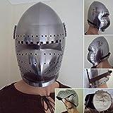 NauticalMart 14th / 15th Century Bascinet Helmet with Visor