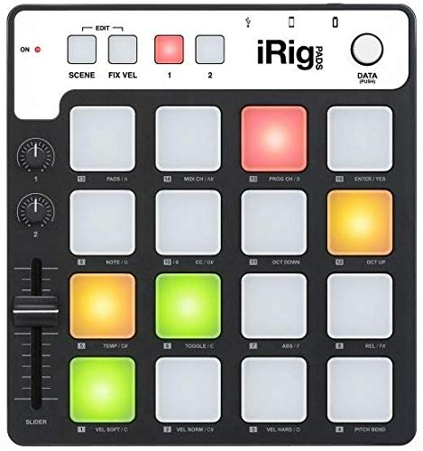 IK Multimedia 03-90050 iRig Pad-Controller für Apple iPad/iPhone/iPod Touch/Mac/PC