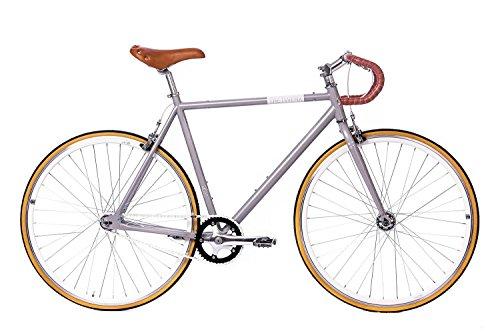 tretwerk DIREKT gute Räder Alma Race 28 Zoll Singlespeed/Fixie, Herren-Fahrrad 1 Gang, L