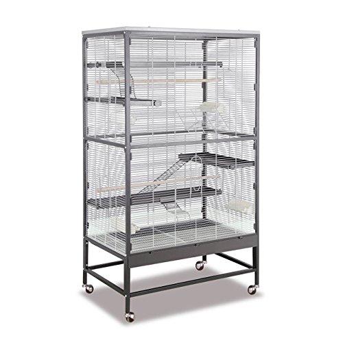 Montana Cages ® | Voliere, Zimmervoliere, Käfig Sevilla II - Antik/Platinum