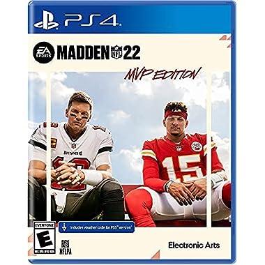 Madden NFL 22 MVP Edition – PlayStation 4 & PlayStation 5