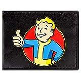 Cartera de Bethesda Fallout 4 Vault Boy Thumbs Up Negro
