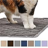 GORILLA GRIP Original Premium Durable Cat Litter Mat, 35x23, XL Jumbo, No Phthalate