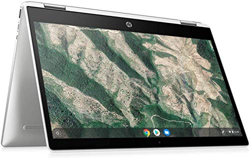 HP 2-in-1 Convertible Chromebook, 14inch HD Touchscreen, Intel Quad-Core...