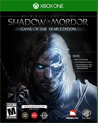 Middle Earth: Shadow of Mordor Game of the Year – Xbox One