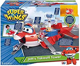 Playset Super Wings – Jett's Takeoff Tower Transform