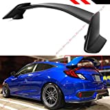 Cuztom Tuning Fits for 2016-2018 10th Gen Honda Civic 2 Door Coupe CTR Type R Style Trunk Spoiler Wing