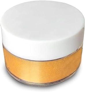 siwetg 5g Polvo de Plata Dorado con Brillo de Destello Comestible para Decorar Pastel de Alimentos Bizcocho para Hornear (Dorado)