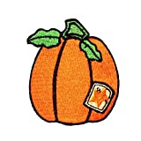 ID 0827 Prize Pumpkin Patch Halloween Harvest Farm Embroidered Iron On...