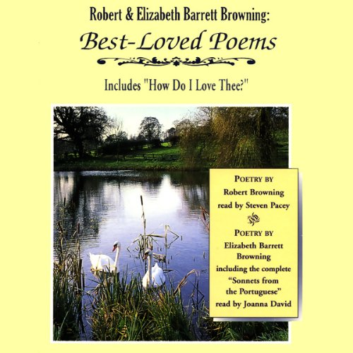 Robert and Elizabeth Barrett Browning audiobook cover art