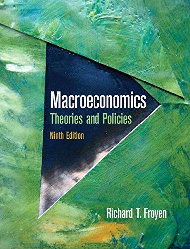 Macroeconomics: Theories and Policies