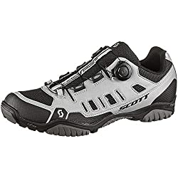 Scott Sport Crus-r Boa MTB Trekking Fahrrad Schuhe Reflective grau/schwarz 2021: Größe: 43