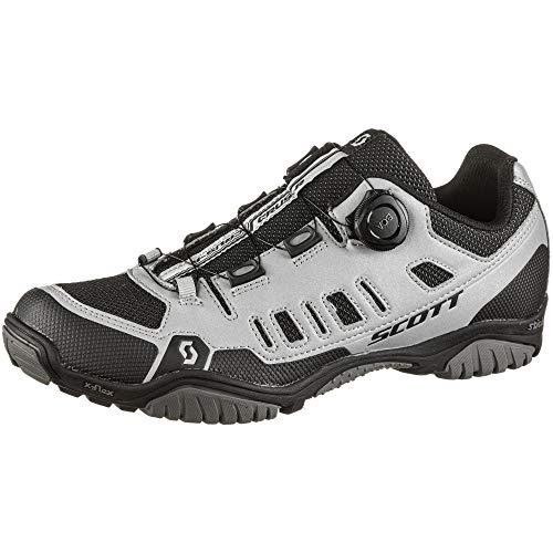 Scott Sport Crus-r Boa MTB Trekking Fahrrad Schuhe Reflective grau/schwarz 2021: Größe: 45