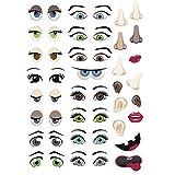 Graine Créative 124 Stickers - Eyes & face