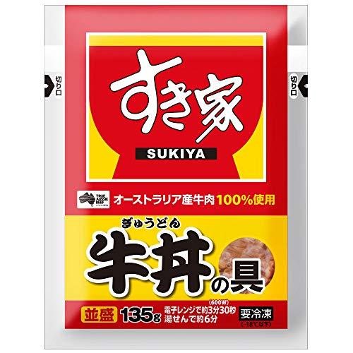 すき家 牛丼の具 20パック (135g×20) 並盛 冷凍食品