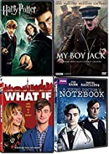 Daniel Radcliffe Movies 4-Film - What if/ My boy Jack/ A young Doctor's Notebook/ Harry Potter and the Order of the Phoenix