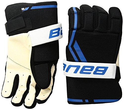 Bauer Senior Street Hockey-Handschuhe (Paar), Größe L, Schwarz