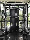 NNI FITNESS 2020 Commercial Smith Machine - Black