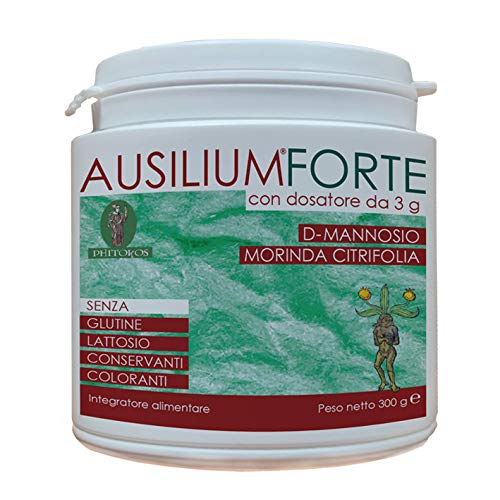 Ausilium Forte 300 g con dosatore- con D-mannosio e Morinda citrifolia
