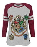 Hogwarts Harry Potter Women's Raglan Top (M)