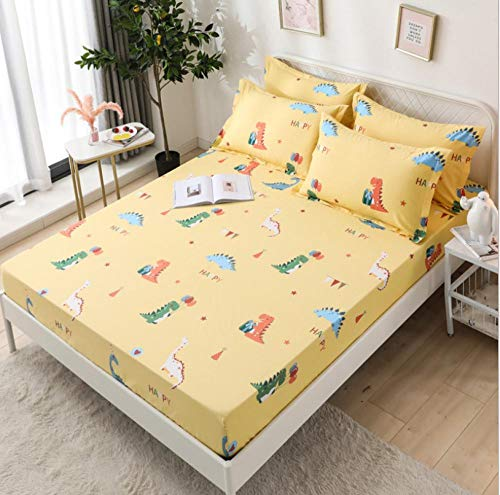 100% algodón, apartamento para estudiantes, sábana ajustable tamaño king, sábanas para hoteles, funda de colchón antideslizante, funda de cama, colchas opcionales multicolores, R_180x200cm + 30cm