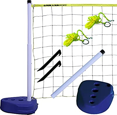 Park & Sun Sports Portable Indoor/Outdoor Swimming Pool Volleyball Net System