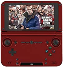 GPD XD RK3288 2G/64G 5' Quad Core H-IPS Android Video Game Player Game Console Handheld game consoles Red by GPD [並行輸入品]